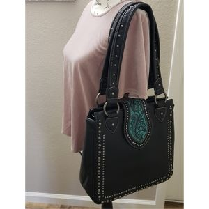 Montana West leather concealed carry bag